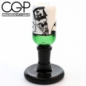 Zach Puchowitz - Green and Black 14mm Slide with Gear Stand-@Ouchkick