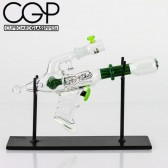 Darby Holm - Darby Dichro Green Ray Gun Concentrate Rig with Stand