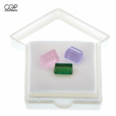 Digger Glass - Terpaline Terp Pearl Crystals, Set of 3 (Pink, Amethyst, and Emerald)