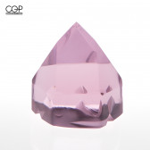 Digger Glass - Crystal Spinner Cap, Pink