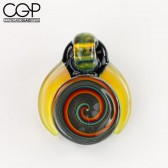 Eusheen Glass x Stoke - K.T. Pendant with Horns and Opal
