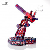 Joda Glass Amber Purple Torch Rig