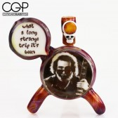 Matt McLamb - Jerry Garcia Long Strange Trip Stealie Concentrate Rig