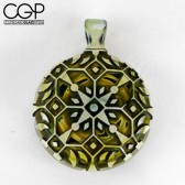 Liberty Glass - Double Sided Pendant
