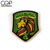 Hat Pin - Seedless - Rasta Lion