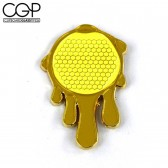 Hat Pin - Joe Peters Artist Series Honeycomb Drip