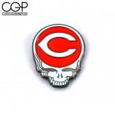 Hat Pin - Cincinnati Baseball Stealie