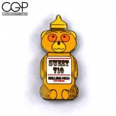 Hat Pin - Rolling High Las Vegas - Sweet 710 Honey Bear