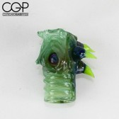 Salt Glass - Sculpted Creature Dome 14mm