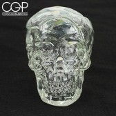 Bob Snodgrass - Fumed Crucible Skull Dry Pipe